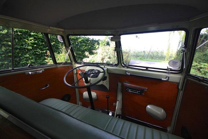 Rare 1951 VW Split Screen Camper Van on eBay