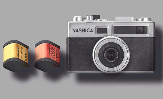 Retro photography: digiFilm camera by Yashica