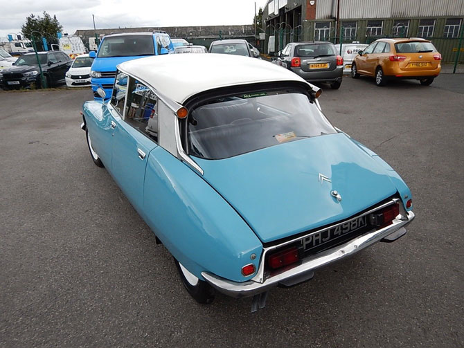 1972 Citroen DS D Special on eBay