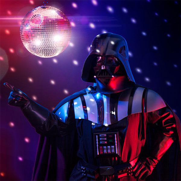 Star Wars Death Star disco ball at ThinkGeek