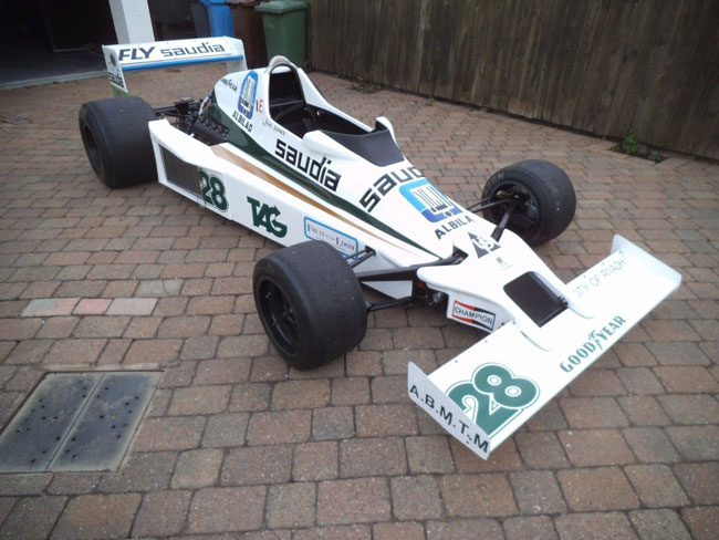 1970s Williams Formula 1 racing car on eBay