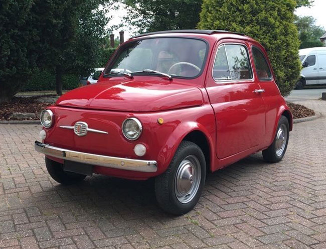 1965 Fiat 500 F Ottobuloni on eBay