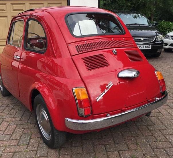 1965 Fiat 500 F Ottobuloni on eBay