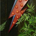 David Bowie-inspired Flash Lightning Bolt light