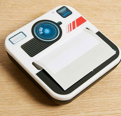 Photonotes Polaroid-style notes dispenser