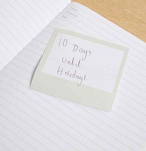 Photonotes Polaroid-style notes dispenser