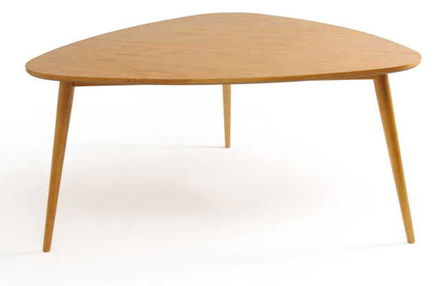 Quilda midcentury-style dining table at La Redoute