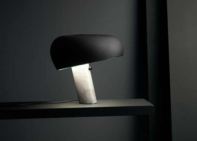 Limited edition 50th anniversary Flos Snoopy table lamp