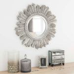 Retro-style sunburst mirrors at Maisons Du Monde