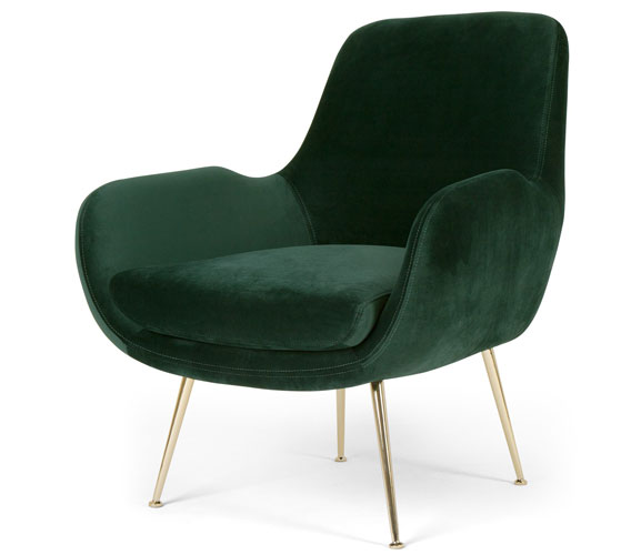 Moby retro seating range at Made