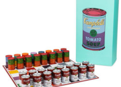 Andy Warhol Campbells Soup Can Chess Set by Kidrobot