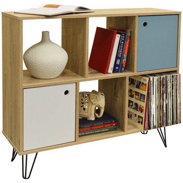 Retro-style open storage unit by Watsons