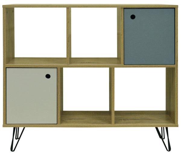 Retro-style open storage unit by Watsons