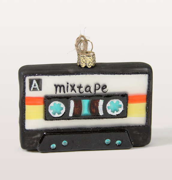 12. 80s Mixtape Christmas tree bauble