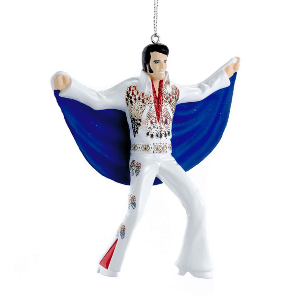 16. Elvis White Cape hanging decoration