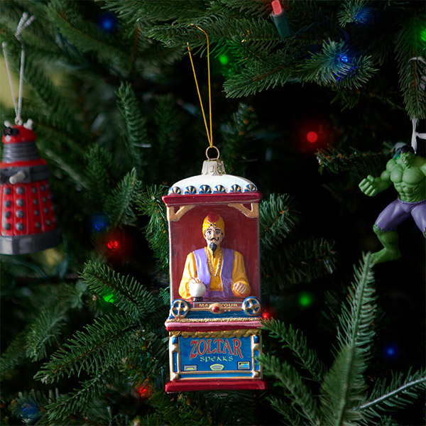 18. Zoltar machine Christmas decoration