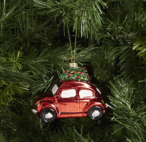 21. VW Beetle decoration by Gisela Graham
