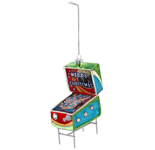 6. Glass pinball machine decoration