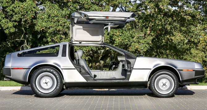 Low mileage 1981 DeLorean DMC-12 car on eBay