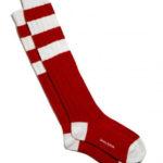 Vintage cashmere-blend football socks by Savile Rogue