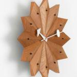 1950s George Nelson Fan wall clock reissued by Vitra