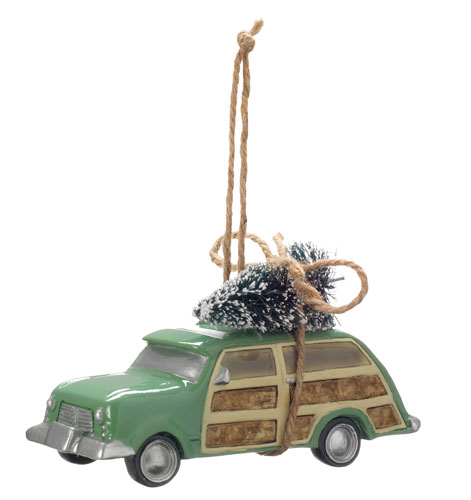 Morris Minor Christmas tree decorations at House of Fraser