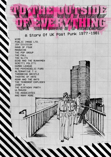 To The Outside Of Everything: A Story Of UK Post-Punk 1977-1981 box set