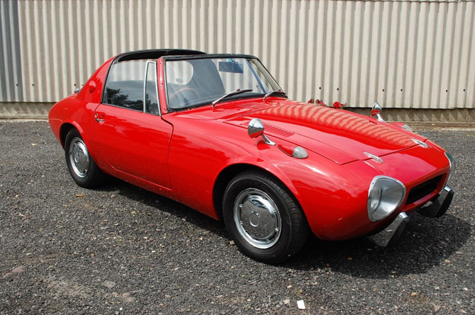 Rare 1960s Toyota Sport 800 Coupe on eBay