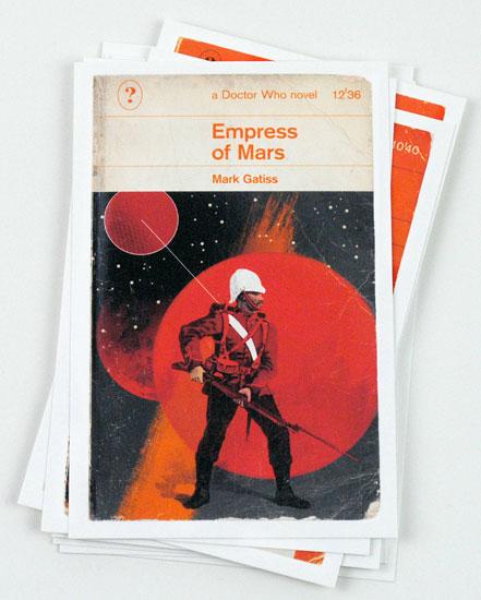 Doctor Who Penguin books-inspired postcards by Coleman Design return