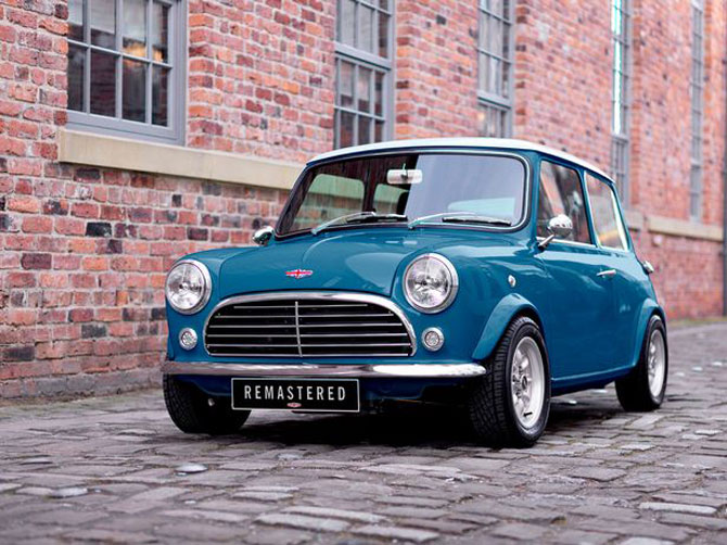 12. An icon returns: The Classic Mini by David Brown Automotive