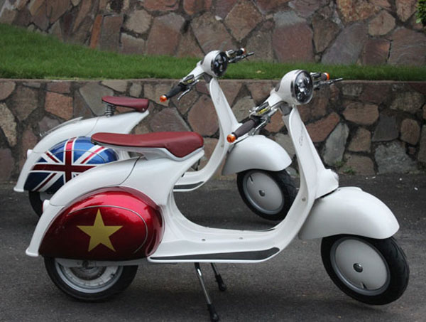 18. Retro wheels: Buzz 1 Vespa-inspired electric scooter