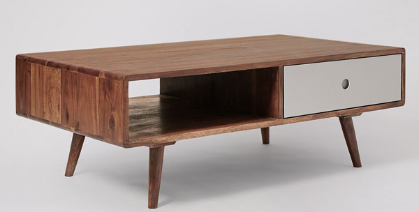 Otto midcentury coffee table at Swoon Editions