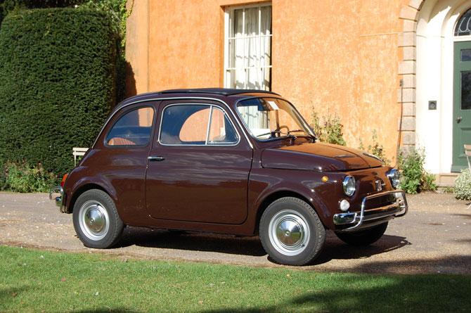 3. 1970 Fiat 500L in Cioccolato on eBay