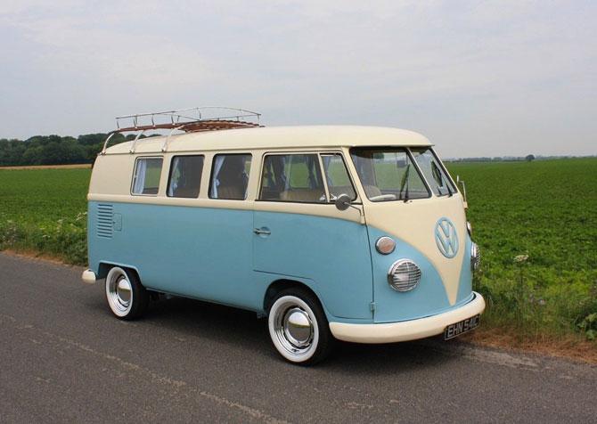 5. Fully restored 1965 VW Split Screen Camper Van on eBay