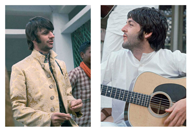 The Beatles In India by Paul Saltzman