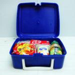 Personalised retro radio lunch boxes