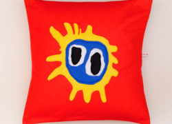 Alternative rock cushions by Mrs Bojingles