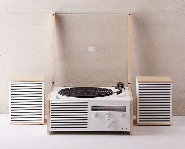 Dieter Rams-inspired Crosley Switch II record player