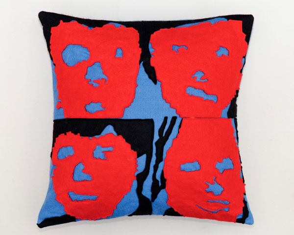 Alternative rock cushions by Mrs Bojingles