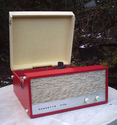1960s Dansette Viva record player on eBay