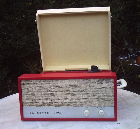 1960s Dansette Viva record player on eBay