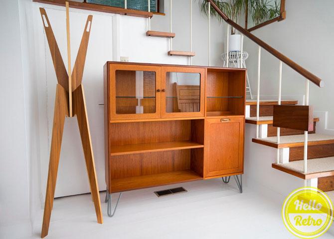 Upcycled vintage G-Plan cabinet on eBay