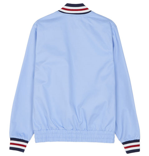 Fred Perry Original Tennis Bomber Jacket in sky blue