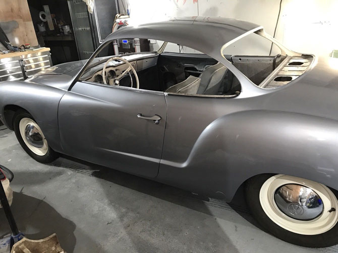 Fully restored 1965 Volkswagen Karmann Ghia on eBay
