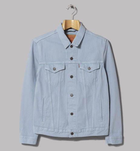 Levi's classic trucker jacket in sky blue