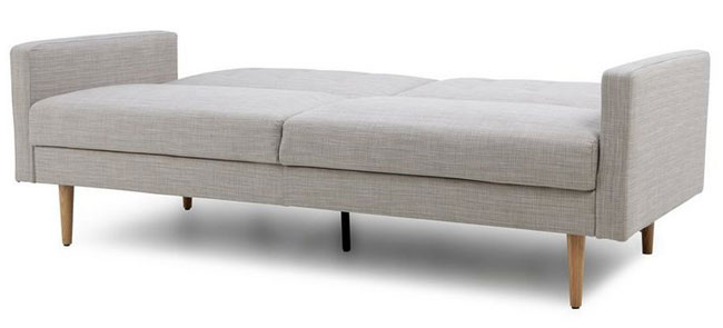 Midcentury-style Lola sofa bed at DFS