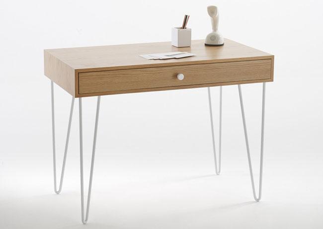 Adza vintage-style desk at La Redoute