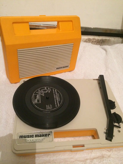 1970s Music Maker record player on eBay