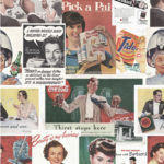 Retro Ads Wallpaper by Mind The Gap