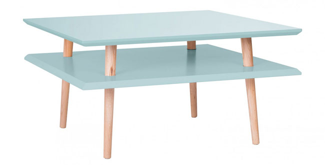 Colourful retro coffee tables by Ragaba at Monoqi